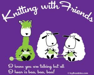 Knitting with Friends