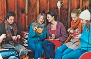 Knitting friends
