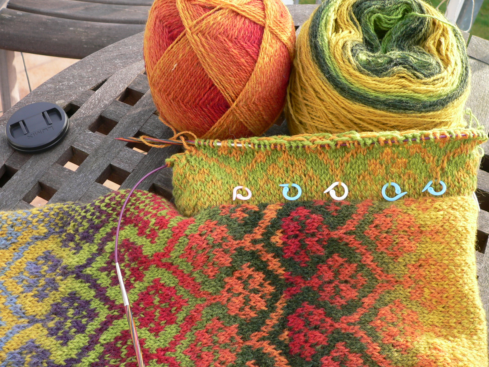 Fair Isle West Coast Knitter