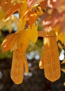 Fall Knitting Yellow