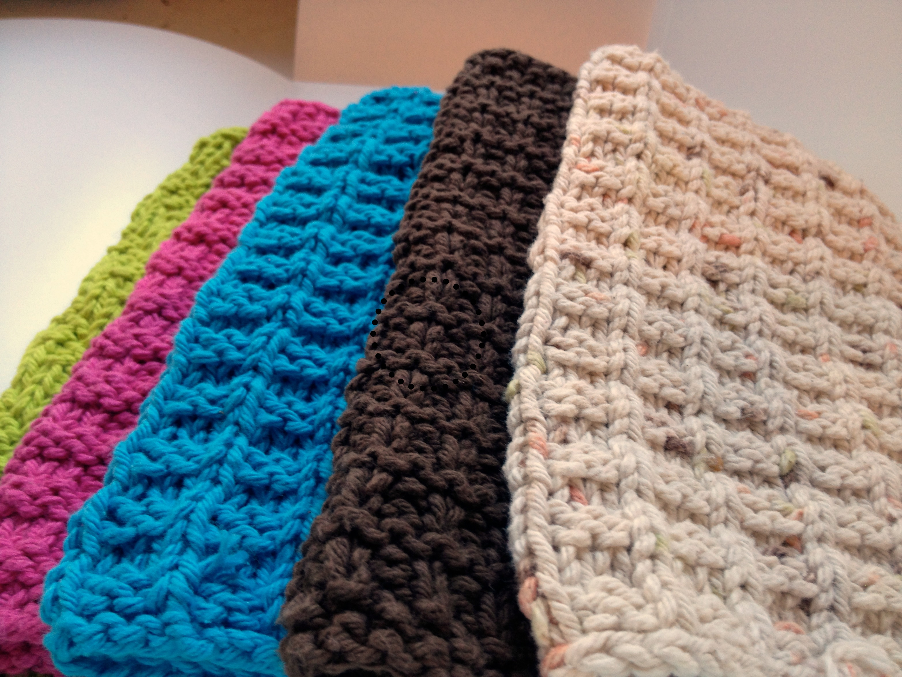 dish cloths | West Coast Knitter