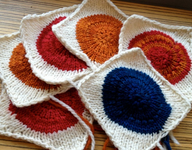 POP Blanket Knit Squares
